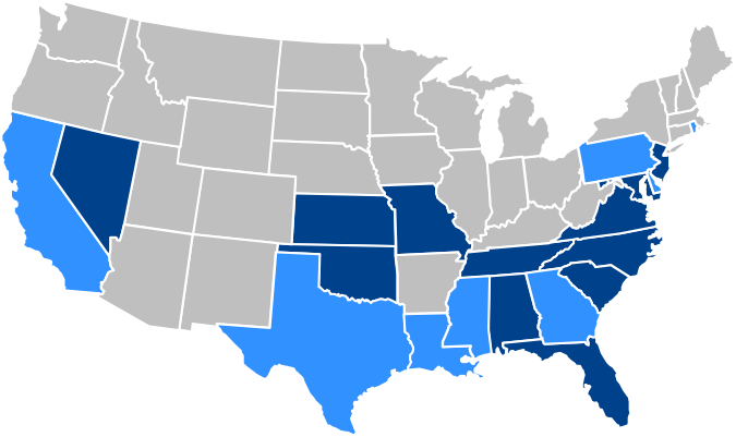 American Property Insurance coverage areas